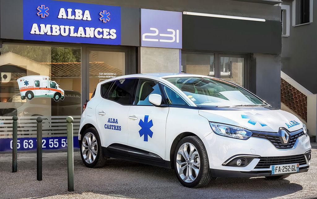 VSL Vehicule Sanitaire Léger